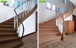 Holz Treppenstufen Erneuern : renovierungsl sungen portas partner nuss t ren k chen und treppenrenovierung mannheim ~ Markanthonyermac.com Haus und Dekorationen