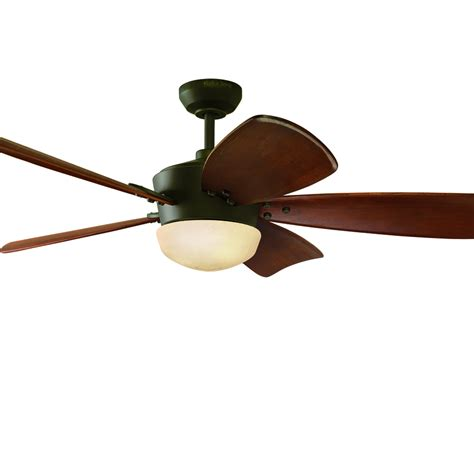 shop harbor saratoga 60 in rubbed bronze downrod mount indoor ceiling fan with light