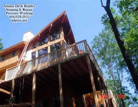duluth ga deck builders deck repair staining and