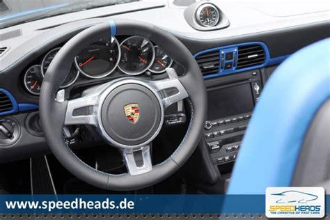 Porsche 911 (997) Speedster Innenraum  Bild 13  Speed Heads