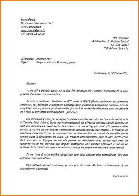 6 lettre commerciale espagnol lettre de preavis