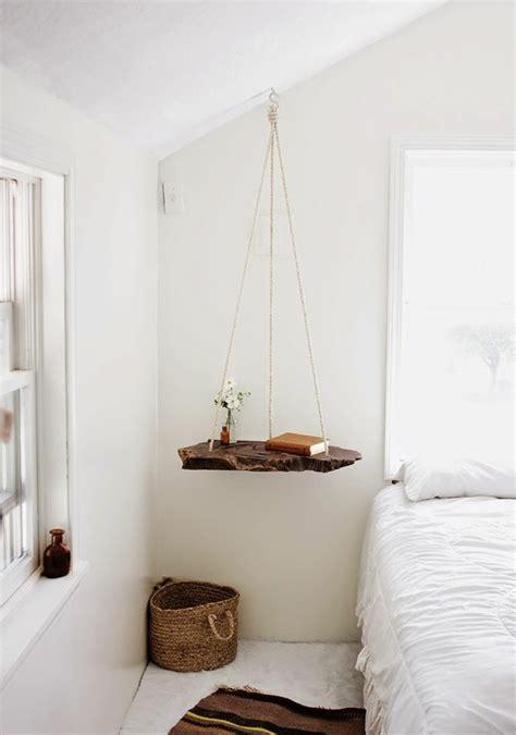 installer une table de nuit suspendue pr 232 s de lit les avantages archzine fr bedrooms