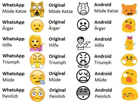 6 Merkwürdige Whatsapp-emojis Und Was Sie Wirklich Bedeuten