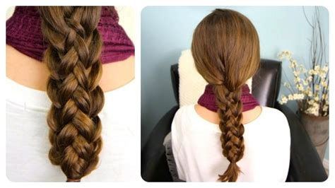 How To Do Cute Stacked Braids Hairstyles For Long Hair Diy Tutorial Step By Step Instructions