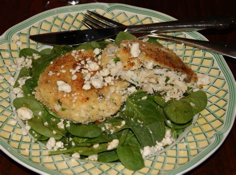 crab cake salad crab cake salad featuring fresh express spinach and sherry