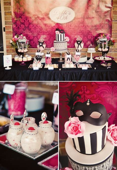 18 chic 40th birthday ideas for shelterness