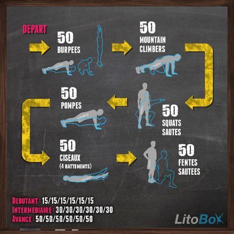 programme litobox 300 au poids du corps 188 crossfit