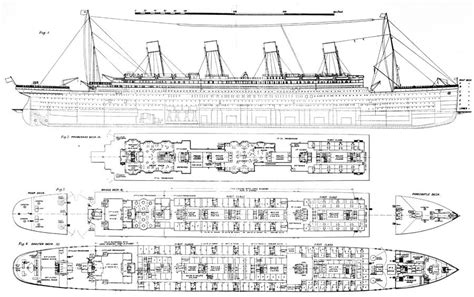 Titanic Boat Structure by Inquiry Into The Loss Of The Titanic Cross Sections Of The