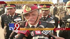 Kashmir erupts over Army Chief Rawat's remarks - TV9 - YouTube