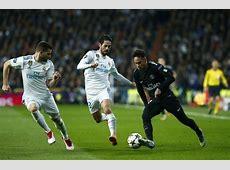 Cristiano Ronaldo vs Neymar Stats 2018 Champions League