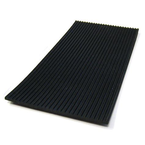 tapis de sol auto en caoutchouc noir stries fines comptoirauto