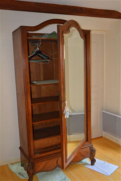 armoire ancienne glace clasf
