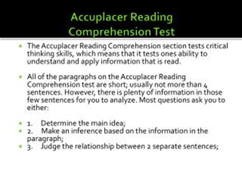 Ppt  Accuplacer Writing Test Powerpoint Presentation Id207460