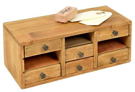 meuble en bois avec 6 tiroirs 29x13cm h 11cm bo 238 tes 224