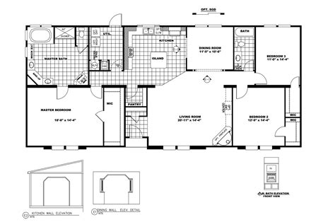 Clayton Mobile Home Floor Plans Photos by Manufactured Home Floor Plan 2009 Clayton Prince George