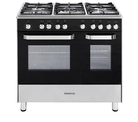 buy kenwood ck405 dual fuel range cooker black free delivery currys