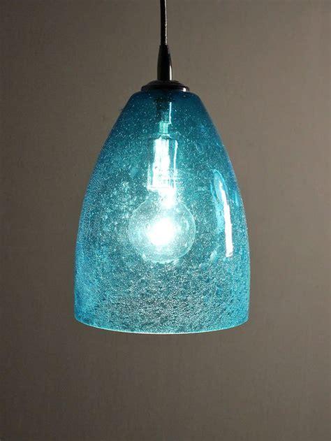 aqua glass pendant light pin by on refreshing aqua