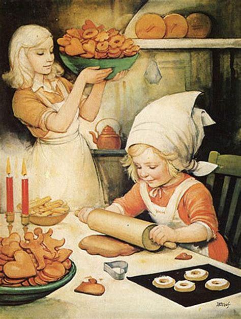 Gingerbread makers by Helge Artelius