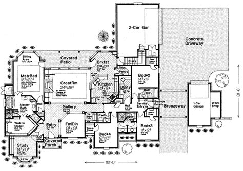 images one level country house plans single story country house plans custom single story house
