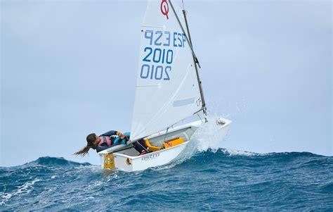 Boot Optimist by Optimist Aecio Trophy 2013 Gran Canaria Sail In Winter