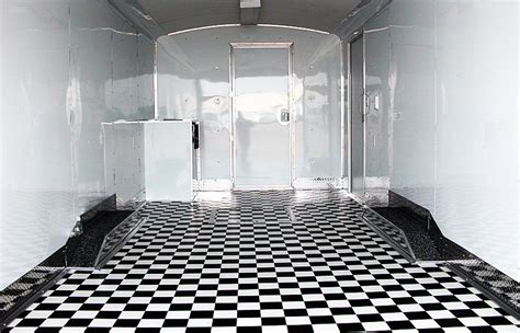 black white checkerboard sheet vinyl flooring ourcozycatcottage