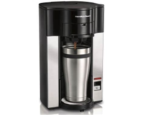 Hamilton Beach 49990 Personal Cup Stay Bonavita Coffee Maker Ratio Stopped Working Management Game Cold Brew On Nitro Rush Free Math Bean Mugs At