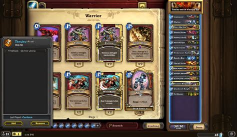 s18 2 legend mech warrior hearthstone decks