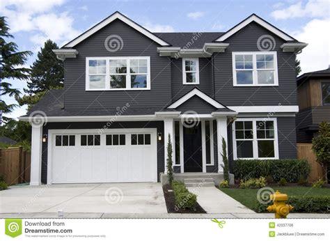 maison am 233 ricaine neuve photo stock image 42037706