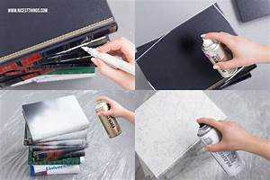 Tisch Selber Machen : tisch aus b chern diy b chertisch selber machen mit marmor effekt nicest things ~ Markanthonyermac.com Haus und Dekorationen