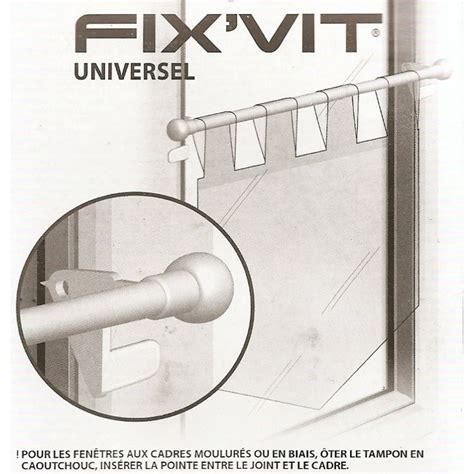 tringle fix vit autobloquante 9mm extensible 30 50cm