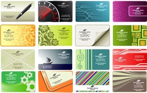 Business Card Free Vector Download (22,469 Free Vector