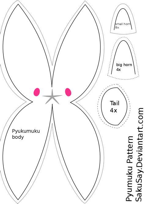 Totoro Pumpkin Pattern by Free Pyukumuku Plush Sewing Pattern By Sakusay On Deviantart