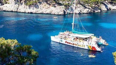 Catamaran Hire Palma Mallorca by Port Alcudia Sailing Catamaran Boat Trip Seemallorca