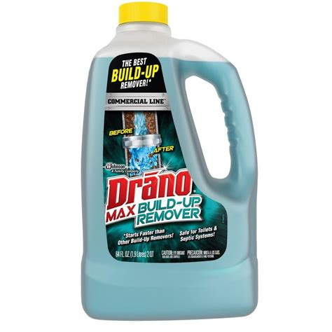 drano not working bathtub drano 64 oz build up remover 622182 the home depot