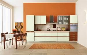 Küche Farbe Wand : beste farbe f r k che 55 gestaltungsbeispiele ~ Markanthonyermac.com Haus und Dekorationen