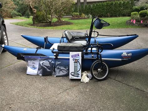 Inflatable Pontoon Boats Calgary by Outcast Discovery 10 Ir Pontoon Boat North Saanich