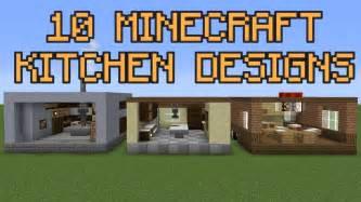 10 minecraft kitchen designs