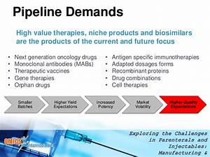 Adapting Drug Product Manufacturing Strategy & Processes ...