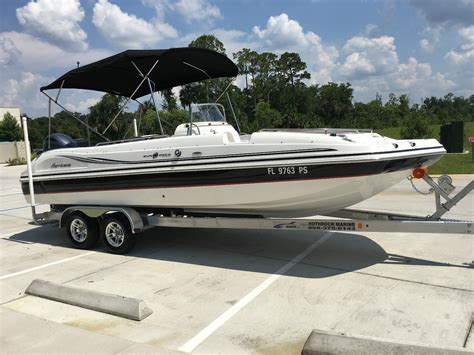 hurricane 231 deck boat boat for sale from usa