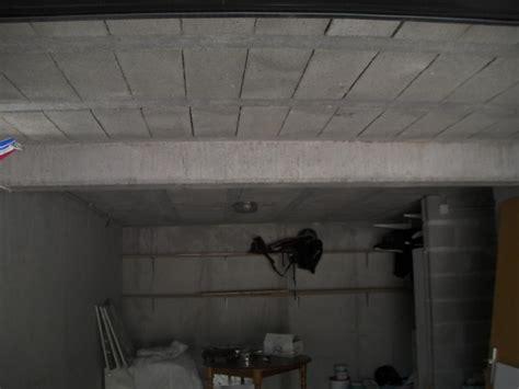faux plafond dans sous sol