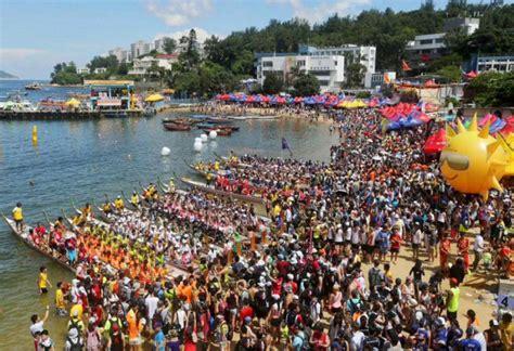 Dragon Boat Festival Hong Kong Stanley paddle power stanley dragon boat carnival starting with a