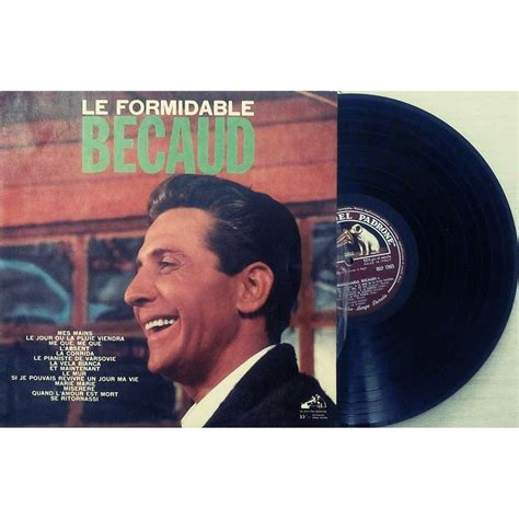 le formidable becaud by gilbert becaud lp with dukeofprunes78 ref 117512223