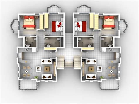 tiny house floor plans small residential unit 3d floor architecture other rome apartments floor plans