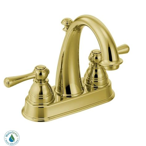 faucet 6121p in polished brass by moen