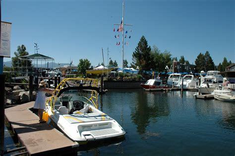 Tahoe Keys Marina Boat Rentals tahoe keys marina lake tahoe guide