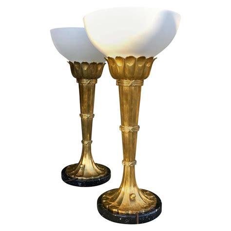 torchiere table l deco moderne torchiere floor l with table at 1stdibs deco moderne torchiere