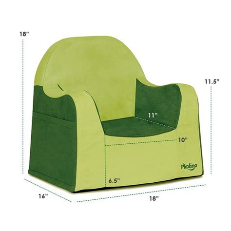 p kolino reader toddler chair with green cover a better child s chair ideal for 2 year