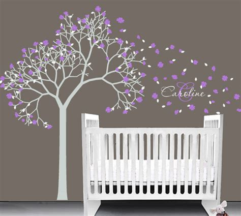items similar to baby nursery vinyl decal tree wall sticker t152 on etsy