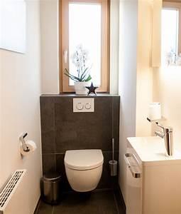 Gäste Wc Gestalten : g ste wc waschbecken f r schmale toilette ~ Markanthonyermac.com Haus und Dekorationen
