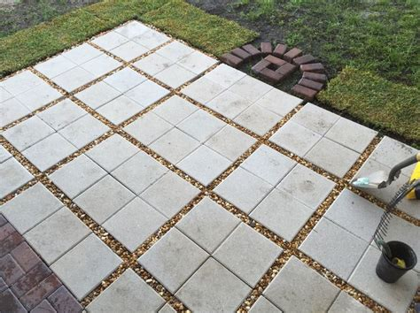patio using 12x12 pavers search patio ideas patios search and